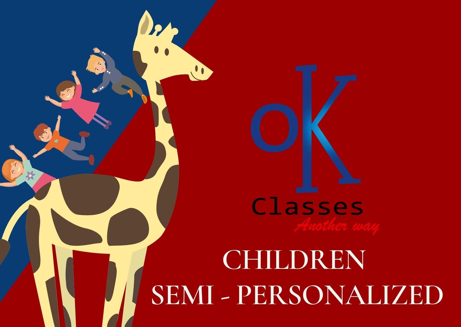 Ok Classes Semi-Personalized Children
