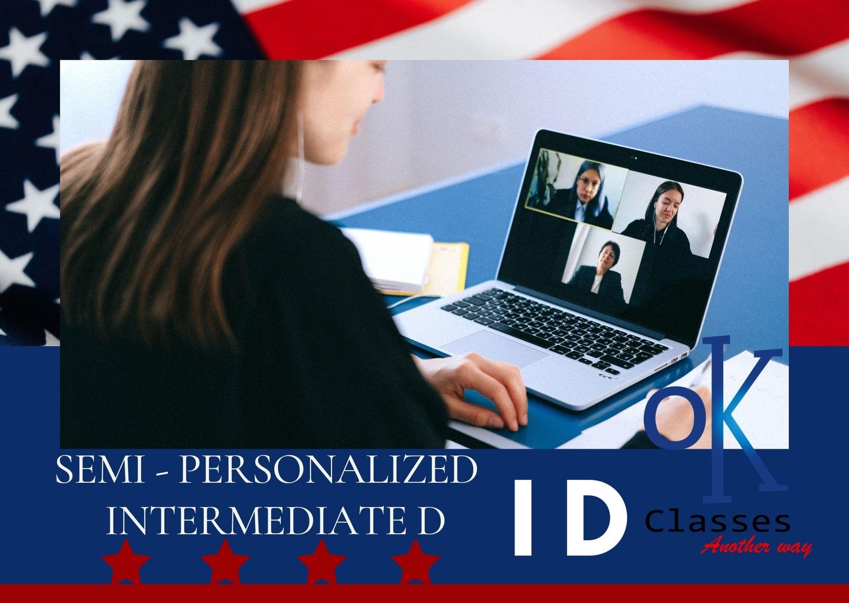 Ok Classes Semi-Personalized Intermediate D